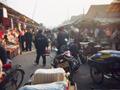 Busy Chinese Market